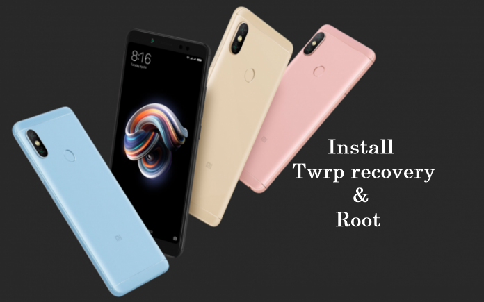 How to Install Twrp recovery & Root Xiaomi Redmi Note 5