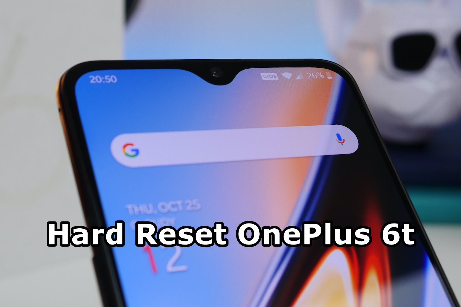 How to Hard Reset OnePlus 6t - Android Result