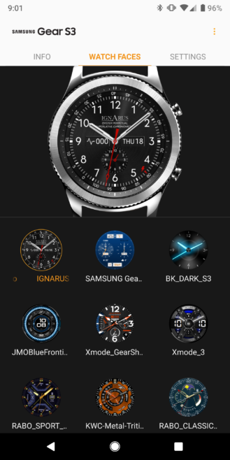 spesso Samsung Galaxy Wearable app new update brings new features and bug MO51