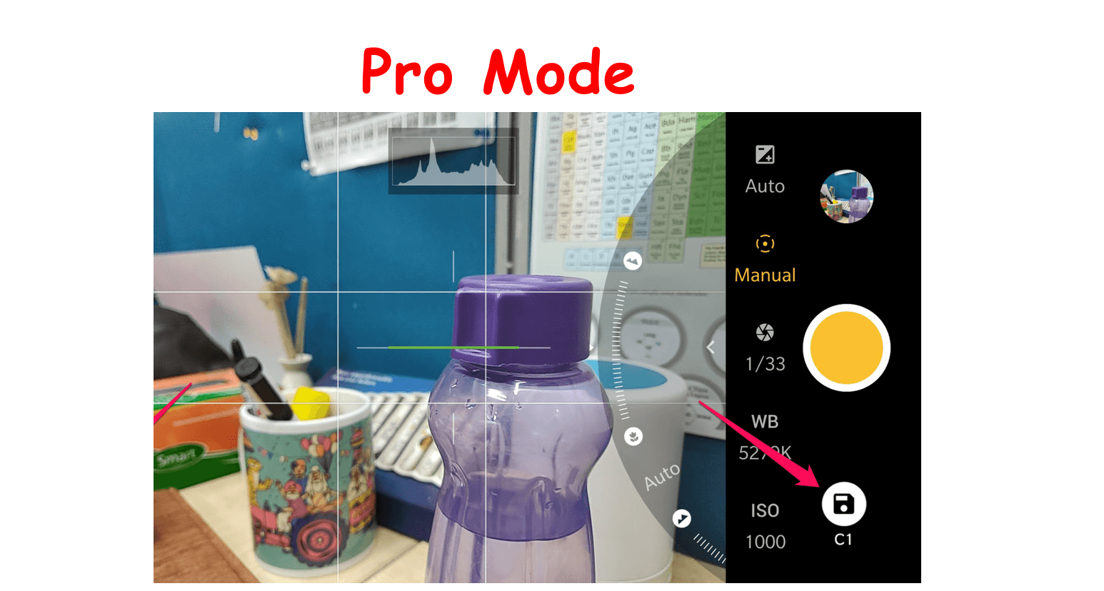 . Even if your phone doesn't ship with a built-in manual mode, there are plenty of apps on the market that can even bring better-looking pictures to older handsets. In this post, we are here with How to use Oneplus 6t camera Pro Mode?