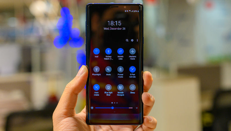 Sprint Galaxy Note 9 getting Android 9 Pie/One UI update