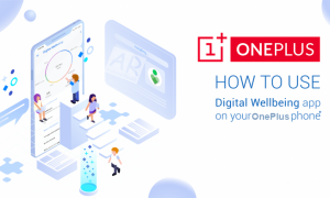 Digital Wellbeing in OnePlus 7 Pro