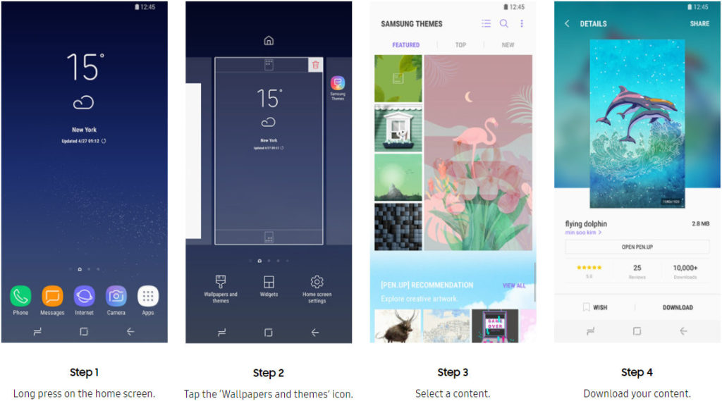 Best 2019 Samsung themes free download - Android Result