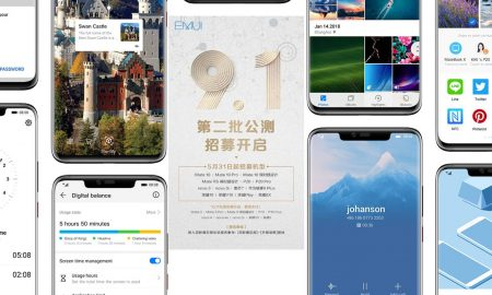 EMUI 9.1 beta now available