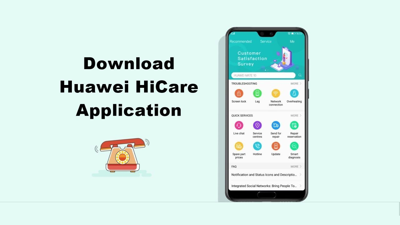 APK] Download Huawei HiCare Application: What's New - Android Result